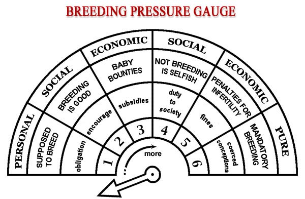 breeding pressure gauge